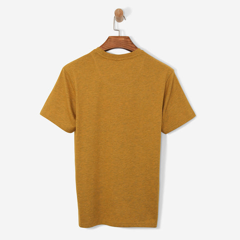 Helly Hansen Logo T Shirt Golden