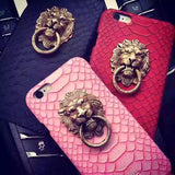 3D Lion Head IPhone Case