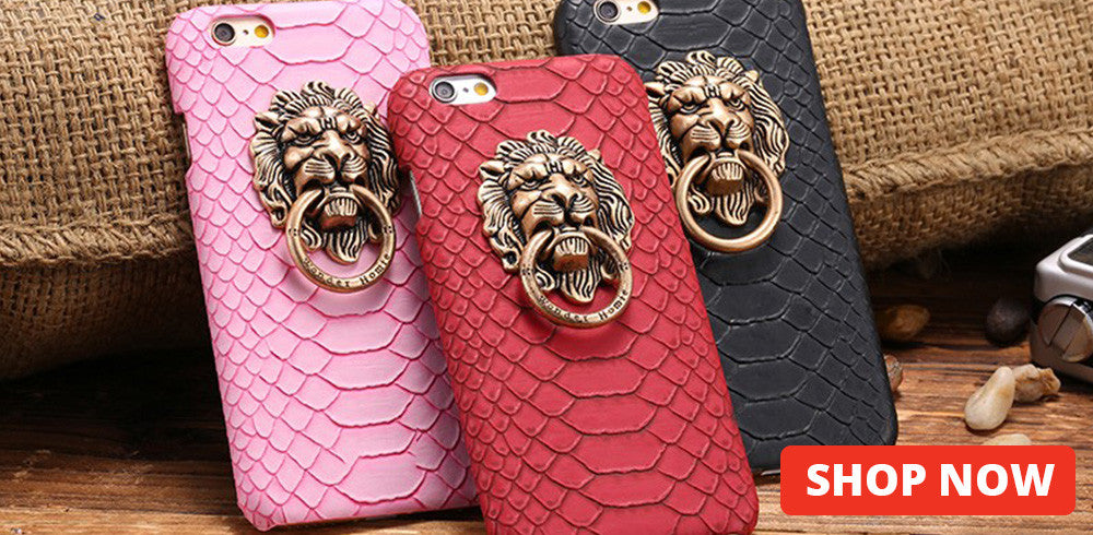 3D Lion Head Case