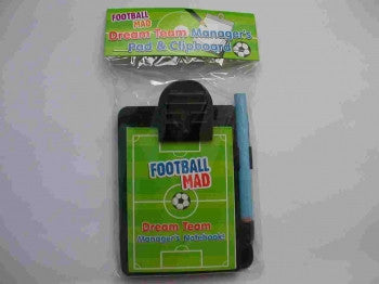 Mini Football Clipboard and Notepad