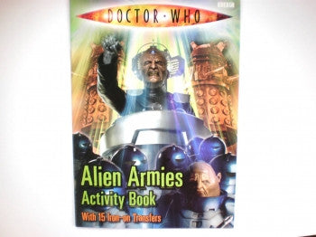 Dr Who Alien Armies Activity Book