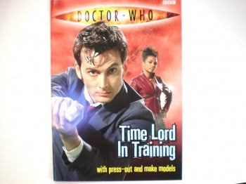 Dr Who Timelord Model Book
