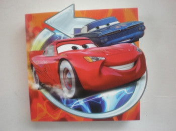 Disney Cars Memo Block