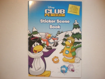 Club Penguin Sticker Scene Book