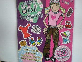 Groovy Chick Sticker Doll Dressing Book