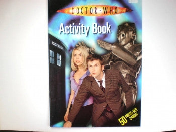 Dr Who Activity Book