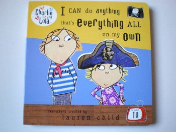 Charlie & Lola Board Book