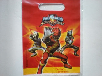 Power Rangers Party Bags