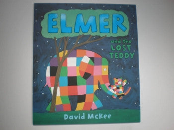 Elmer Book: Lost Teddy