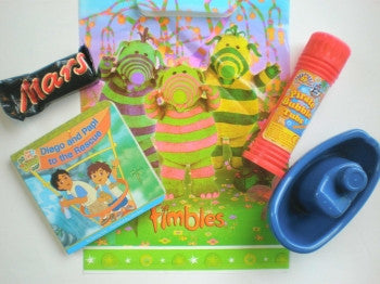 Boys Toddler Party Bags
