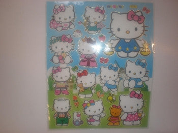 Hello Kitty Large Sticker Sheet