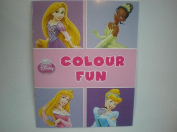 Disney Princess Colouring Book