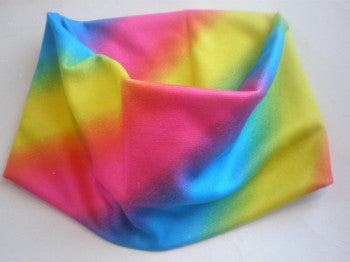 Extra Wide Rainbow Headband