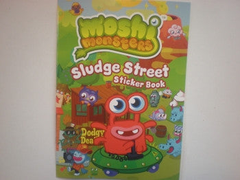 Moshi Monsters Sticker Book: Sludge Street