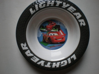 Cars Melamine Bowl