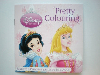 Disney Princess Mini Colouring Book