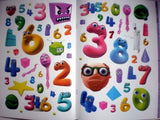 Number Jacks Sticker Scene Book