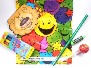 'Budget Stationery' Party Bag
