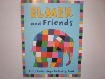 Elmer Colouring & Activity Book