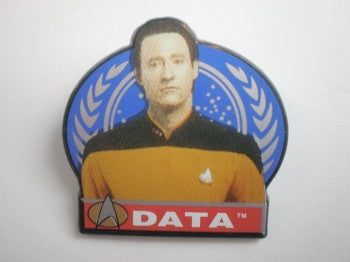 Star Trek Pin Badge: Data