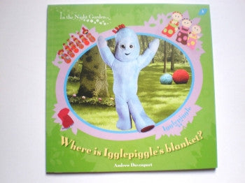Where is Igglepiggle's Blanket PB Book