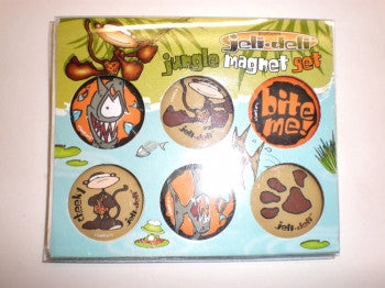 Jeli Deli Jungle Magnet Set