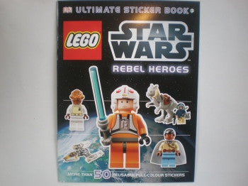 Star Wars Lego Sticker Book: Rebel Heroes