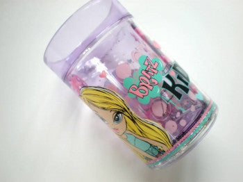 Bratz Double Walled Glitter Tumbler