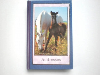 Horse and Pony Address Book