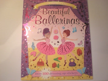Sticker Doll Book: Beautiful Ballerinas