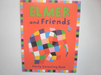 Elmer Colouring Book: Party