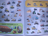 Diggers & Tractors Sticker Activity Books