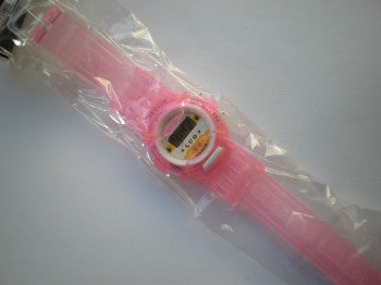 Digital Watch: Pink