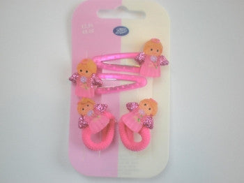 Angel Hairclips and Ponios