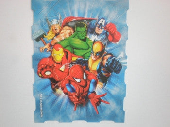 Superheroes Stickers