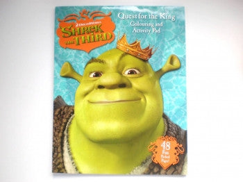 Shrek Coloring Activity Pad