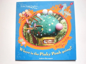 Where is the Pinky Ponk Going PB Book