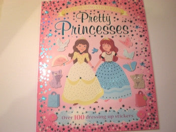 Sticker Doll Book: Pretty Princesses