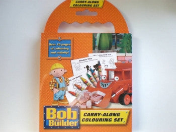 Bob the Builder Carry-Along Colouring Set
