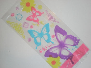 Butterfly Cellophane Loot Bags