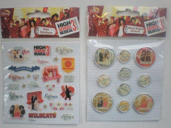 High School Musical Stickers