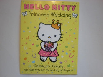 Hello Kitty Book: Princess Wedding