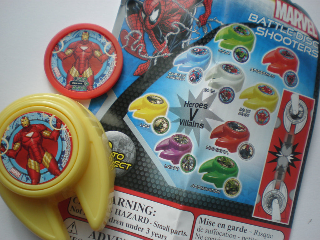 Marvel Superheroes Disc Shooter