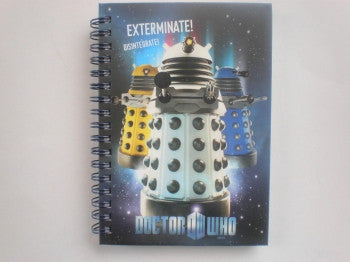 Dr Who Notebook A6