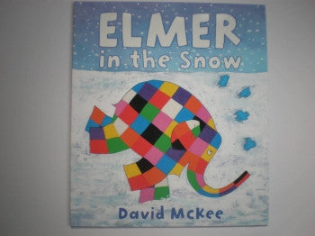 Elmer in the Snow Book