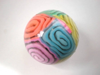 Swirl Bouncy Ball 45mm