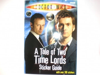 Dr Who Time Lords Sticker Guide