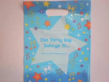 Blue Party Bags
