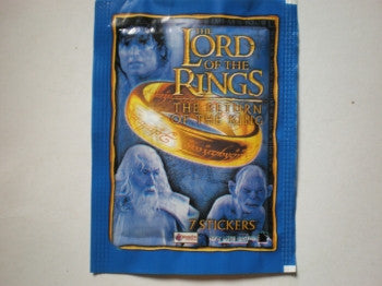 Lord of the Rings Stickers Packs