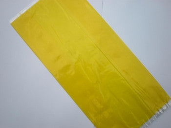 Yellow Cellophane Party Bags